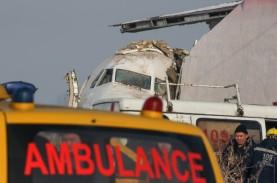 Pesawat Jatuh di Kazakhstan Tewaskan 12 Orang