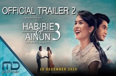 Habibie & Ainun 3 Ungguli Imperfect Pada Pekan Terakhir Tahun 2019