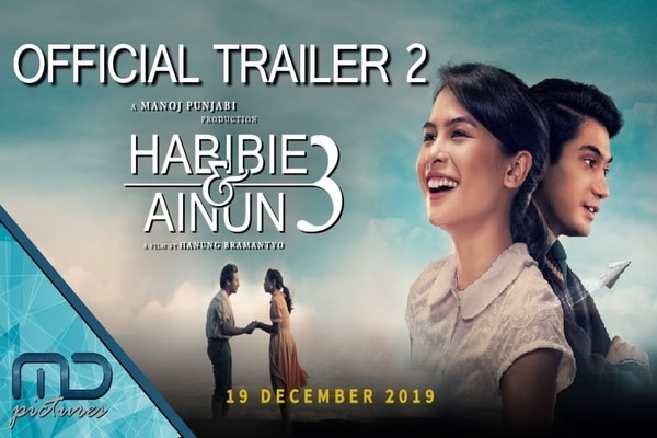 Poster official poster Habibie & Ainun 3 / Dok. Youtube MD Pictures