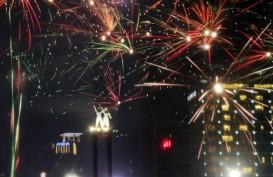 Ada Pesta Kembang Api pada Perayaan Tahun Baru di Cilacap
