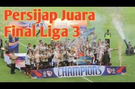 Persijap Tekuk PSKC 3-1, Raih Juara Liga 3. Ini Videonya