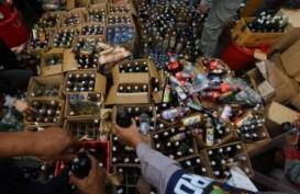 Ribuan Liter Miras Cap Tikus Digagalkan Masuk Gorontalo