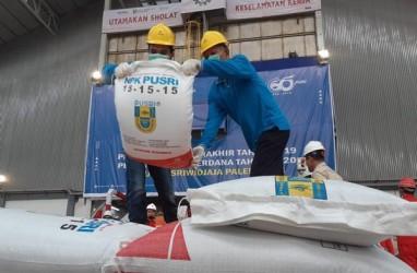 Produksi Urea dan NPK Pusri Palembang Lampaui Target