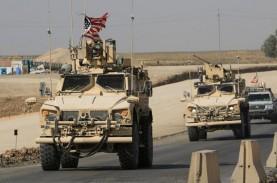 Militer AS Serang Irak dan Suriah, 18 Orang Tewas