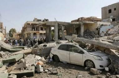 AS Serang Irak dan Suriah Lewat Udara