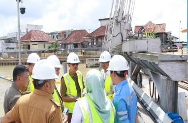 Pompanisasi Sungai Bendung Palembang Mampu Sedot Banjir Seluas 2.400 Ha