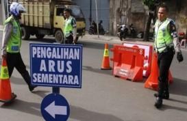 Pengalihan Arus Lalu Lintas dampak Jakarta Car Free Night Malam Ini
