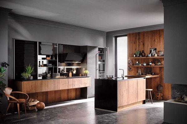 Contoh dekorasi dapur minimalis / dok. haecker/kuechen.de