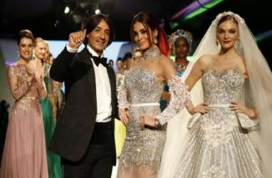Desainer Mesir buat Gaun Pengantin Seharga Rp2 Miliar