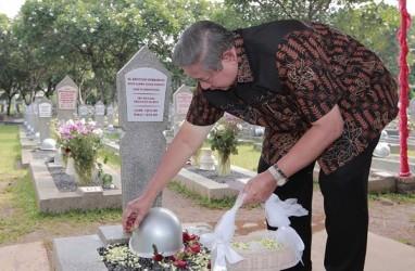Malam Tahun Baru, SBY : Kebersamaan Indah Itu Tak Terjadi Lagi
