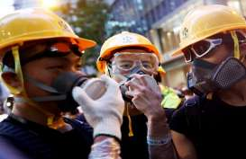 Demontrasi di Malam Tahun Baru, Hong Kong Batalkan Pesta Kembang Api