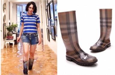 Sepatu Boots Banjirnya Bikin Heboh, Ini Kata Yuni Shara