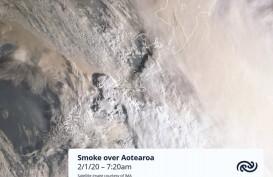 Kebakaran Semak Australia Ubah Gletser Selandia Baru Jadi Kecoklatan