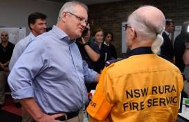 "Kunjungi Korban Kebakaran, PM Australia Diteriaki ""Kamu Idiot"""