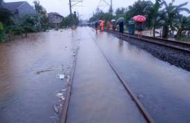 Cegah Tergenang Air, Kementerian Perhubungan Bakal Tinggikan Jalur KA