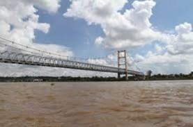 Ini Hasil Uji Coba Beban Jembatan Mahakam