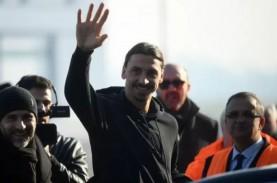 Ibrahimovic Pakai Jersey Nomor 21 di Milan, Eks-Pirlo