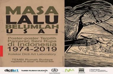 Poster Pameran Seni Rupa Periode 1974-2019 Akan Dipamerkan