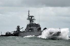 TNI Kirim Kapal Perang dan 600 Personel ke Natuna