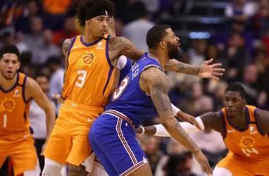 Hasil Basket NBA, Suns Hentikan Kemenangan Beruntun Knicks