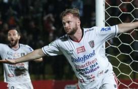 Bali United Pertahankan Penyerang Asal Belanda Melvin Platje