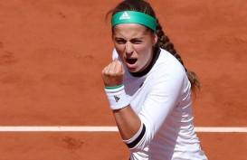 Kuznetsova & Ostapenko Mundur dari Tenis Auckland Classic