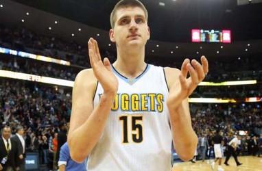 Hasil Basket NBA : Jokic Cemerlang, Nuggets Hajar Hawks 123 - 115