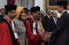 Presiden Lantik Dua Hakim Konstitusi