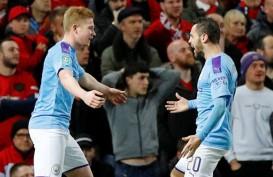 ManCity Tundukkan MU di Old Trafford di Semifinal Piala Liga Inggris