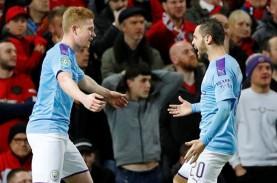 ManCity Tundukkan MU di Old Trafford di Semifinal…
