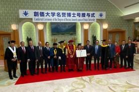 Megawati Dianugerahi Gelar Doktor Kehormatan dari…