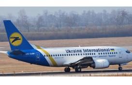 Pesawat Ukraina Jatuh di Iran, Area Kecelakaan Terbakar