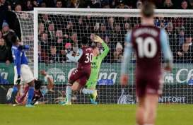 Aston Villa Paksa Skor 1 - 1 vs Leicester di Semifinal Piala Liga Inggris