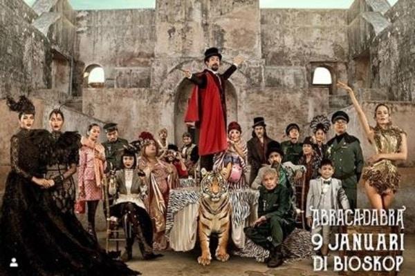 Poster film Abracadabra / Dok. Fourcolours Film