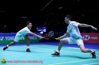 Perempat Final Malaysia Masters 2020, Fajar/Rian Vs Kevin/Marcus