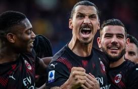 Ibrahimovic Langsung Cetak Gol, Milan Balik ke Jalur Kemenangan