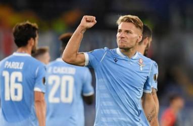 Hasil Liga Italia, Ciro Immobile Antar Lazio Tundukkan Napoli