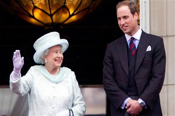 Ratu Elizabeth II dan Pangeran William - telegraph.co.uk
