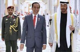 Presiden Jokowi Bertemu Putra Mahkota Abu Dhabi, Menko…