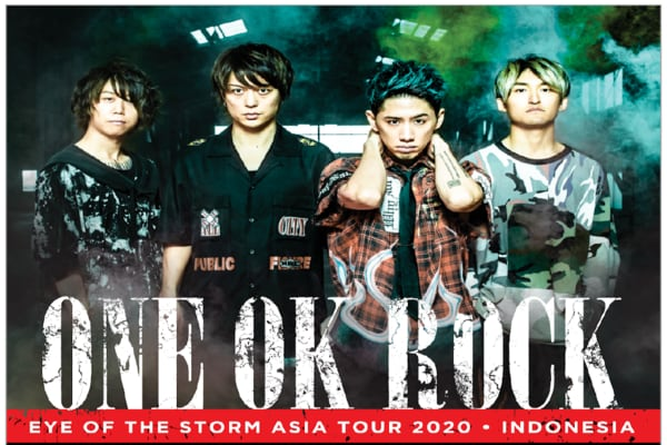 Cover Poster Konser ONE OK ROCK di Indonesia / Dok. AEG Presents