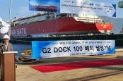 Konstruksi Tepat Waktu, Pertamina Lepas Kapal FSRU Jawa 1 ke Permukaan Air