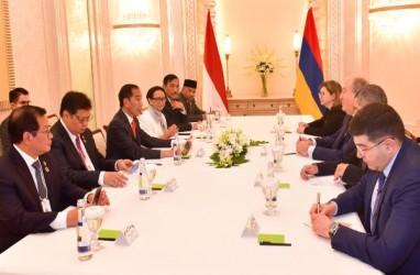 Presiden Jokowi Bertemu Presiden Armenia, Bahas Kerja Sama Teknologi Informasi