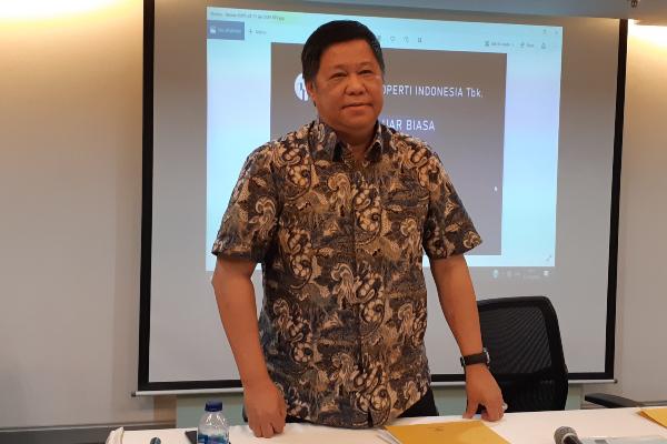 Direktur Maha Properti Suwandy mengatakan pembelian 2 entitas usaha milik PT Hanson International Tbk. dan PT Rimo International Lestari Tbk. hanya wacana pada Senin (13/1/2020). - Bisnis/Pandu Gumilar)