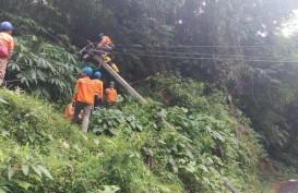 Banjir dan Tanah Longsor, Pemulihan Listrik di Bogor Capai 97 Persen