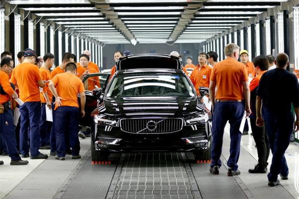 Pusat perakitan Volvo di China. - Volvo Cars