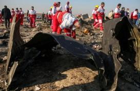Pesawat Ukraina Terekam Ditembak Rudal Iran Dua Kali