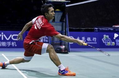Hasil Indonesia Masters 2020, Jonatan Christie Melaju ke Babak Kedua