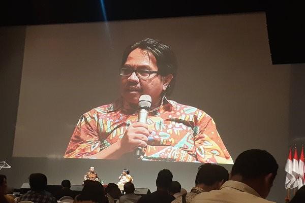 Ade Armando Direktur Komunikasi SMRC di Djakarta Theater XXI, Jakarta Pusat pada Kamis (16/1/2020) - Bisnis.com - Ria Theresia Situmorang