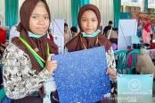 Siswa SMP 1 Surabaya Bikin Komposit dari Sampah Plastik