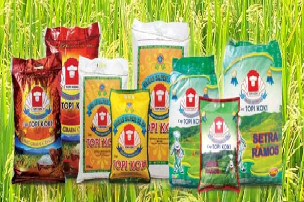 Portofolio produk beras dalam kemasan produksi PT Buyung Poetra Sembada Tbk. - www.topikoki.com